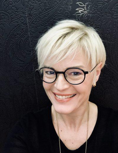 Photo de la directrice de l'école Sainte Germaine Madame Angélique Sauvage