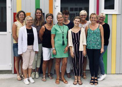 Equipe éducative de l'école sainte germaine en photo