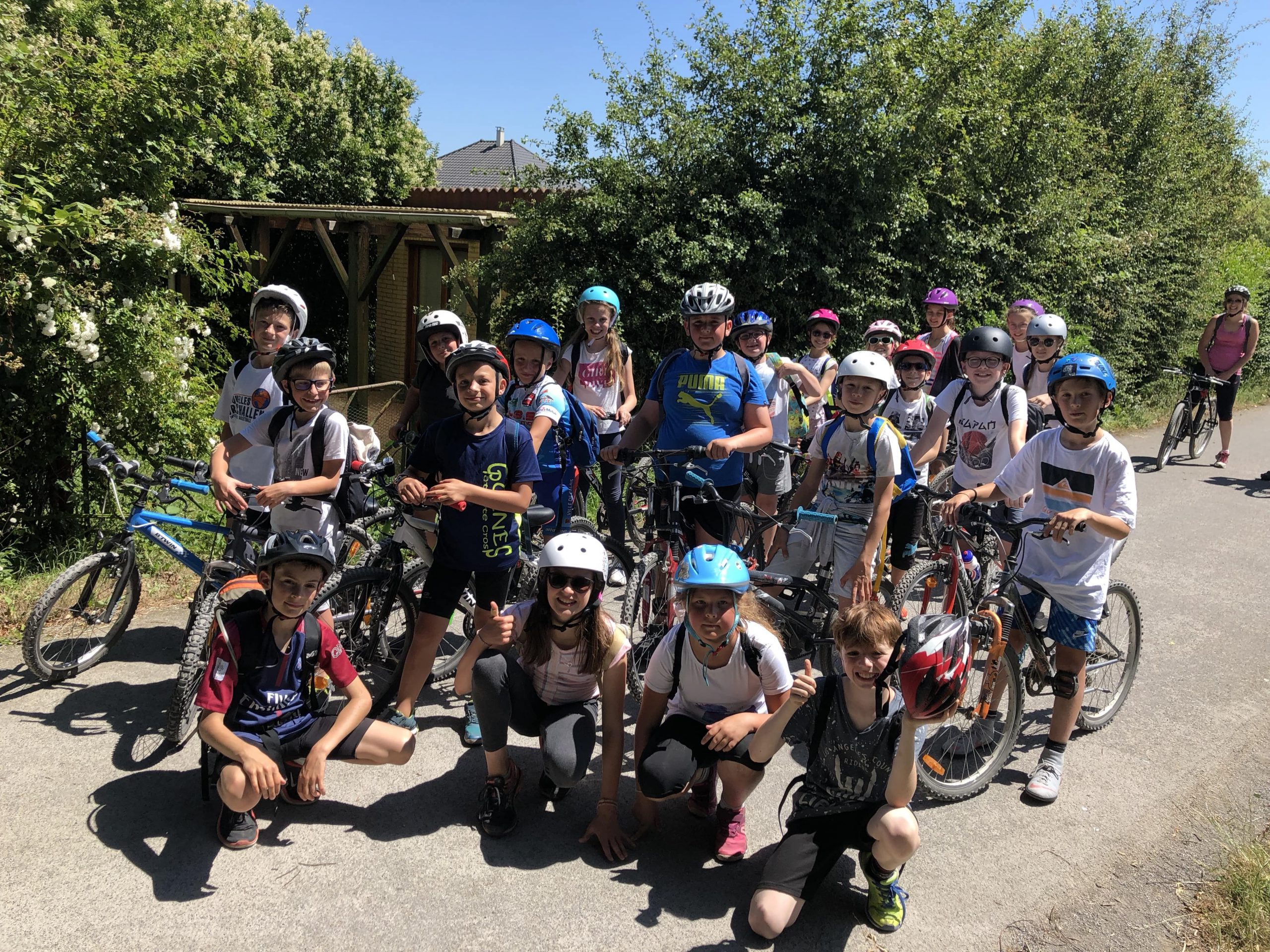 Sortie en vélos Ecole Sainte Germaine