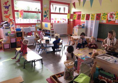 Ecole Sainte Germaine la classe de PS
