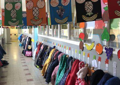 Ecole Sainte Germaine photo couloirs de l'école