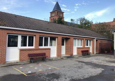 Ecole Sainte Germaine photo de la cour